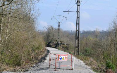 Les travaux d'aménagement de la voie verte-véloroute d'Ossau momentanément interrompus