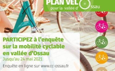 Consultation du 13 mai au 24 mai « Plan vélo pour la Vallée d'Ossau »