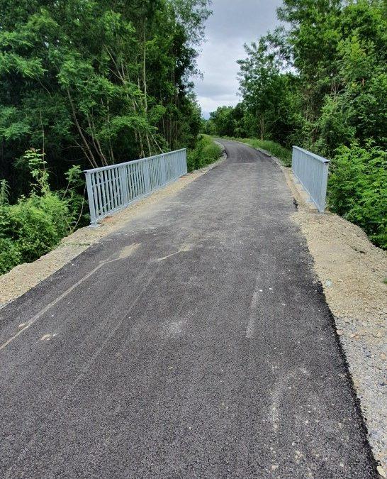 RAPPEL : la voie verte est toujours interdite à la circulation